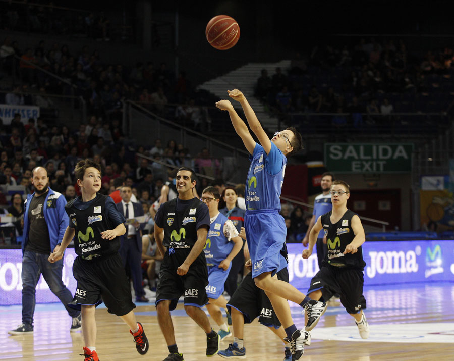 Cetelem, Down Madrid y Fundación Estudiantes celebran el All Star Junior